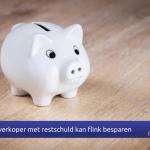 Internetmakelaars Nijmegen, huizenkoper met restschuld