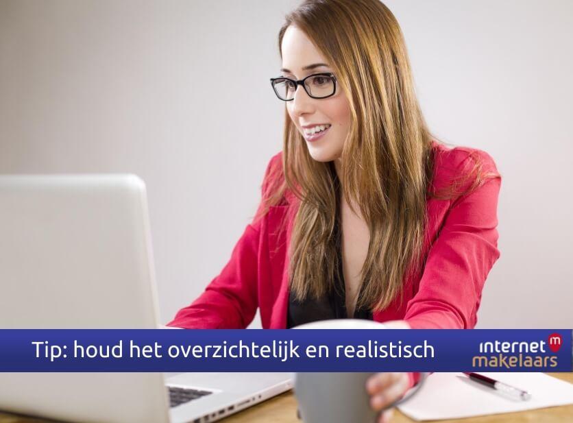 Internetmakelaars Nijmegen, tips pakkende verkooptekst
