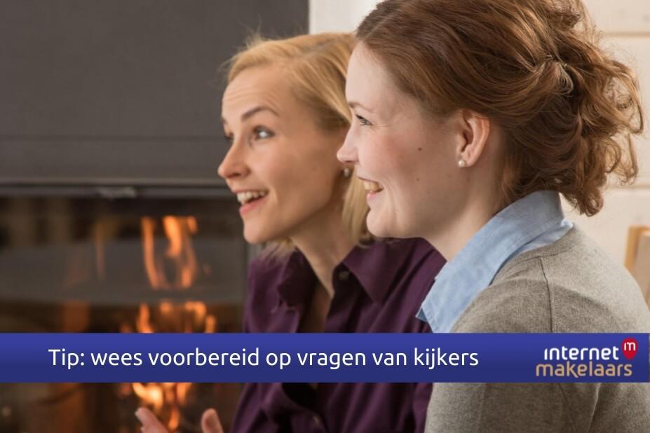 Internetmakelaars Nijmegen, vragen kijkers bezichting